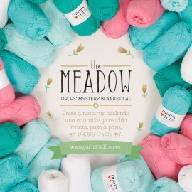 Kit The MEADOW. DROPS Mystery Blanket CAL