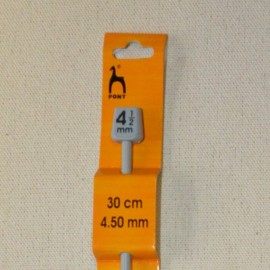 Aguja de tunecino 4.5mm/30cm. Pony