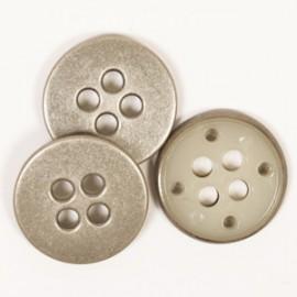 DROPS redondo color acero 23 mm Ref. 542