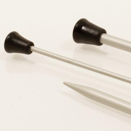 Agujas rectas de 3,5mm. DROPS Basic