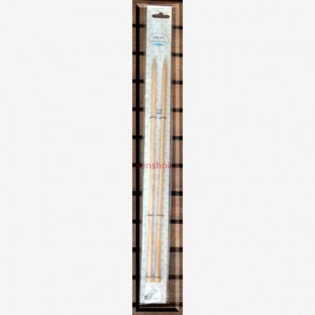Agujas rectas de 7mm. DROPS Basic
