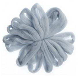 100% Lana natural 031 - gris claro