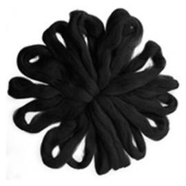 100% Lana natural 0999 - negro