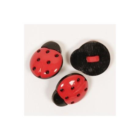 DROPS Ladybug (mariquita) 18 mm Ref. 551