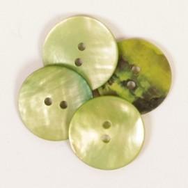 DROPS redondo nácar verde 20 mm Ref. 611