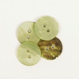 DROPS redondo nácar verde 15 mm Ref. 620