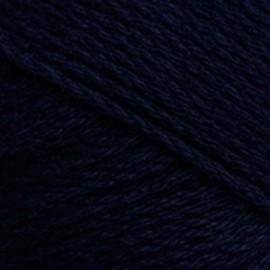 Algodón orgánico TOP 065 - azul marino oscuro