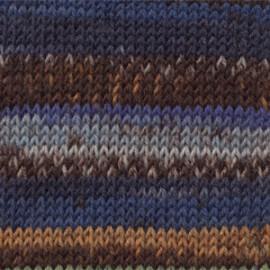 Fabel 671 - azul/café/mostaza
