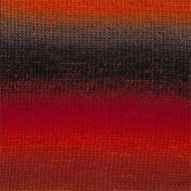 Delight 13 - vermelho/laranja/cinza