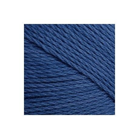 Algodón orgánico TOP 084 - azul