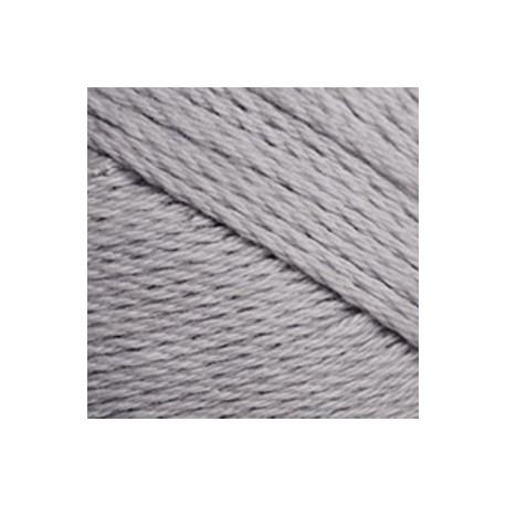 Algodón orgánico TOP 091 - gris perla