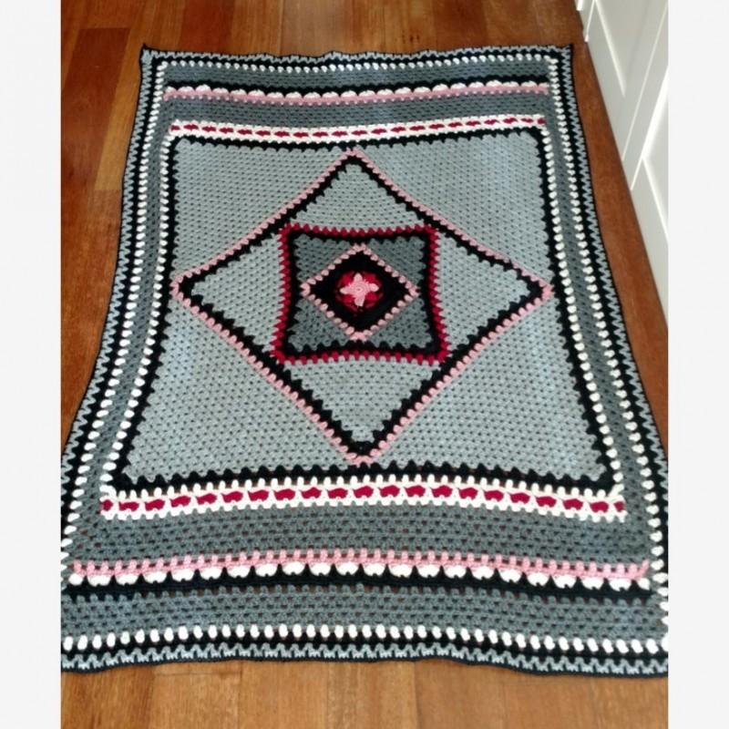 Senshoku - Tutorial manta great granny blanket