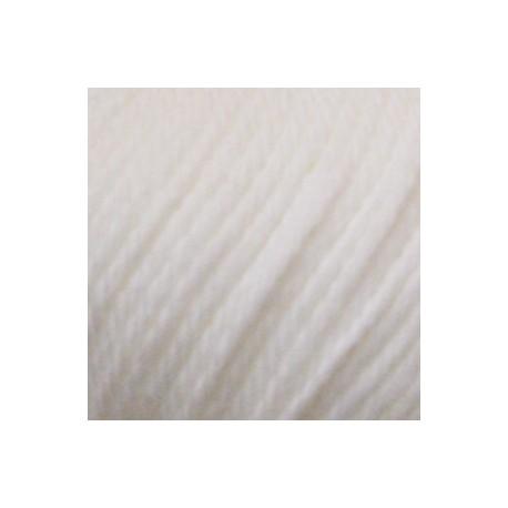 Algodón orgánico Rosetta 000 - blanco