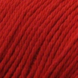 Algodón orgánico Rosetta 106 - rojo vivo