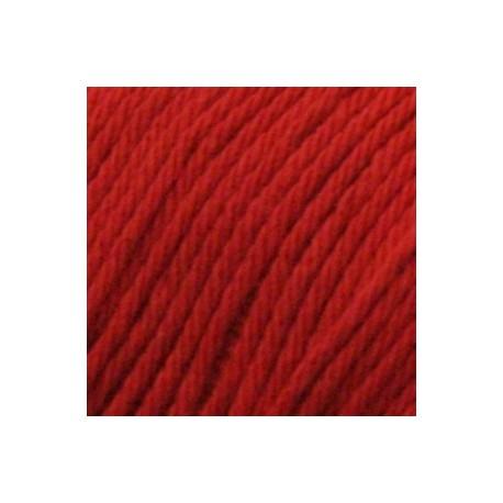 Algodón orgánico Rosetta Cotton 106 - rojo vivo