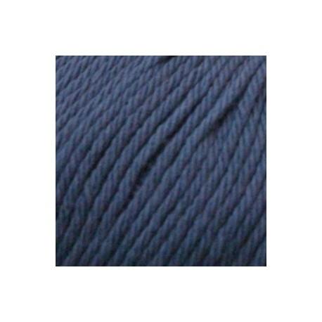Algodón orgánico Rosetta 181 - azul medio