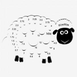 Medidor de agujas oveja HiyaHiya