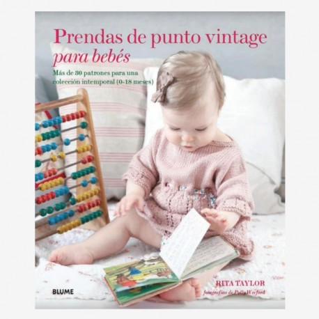 Prendas de punto vintage para bebés (Español)