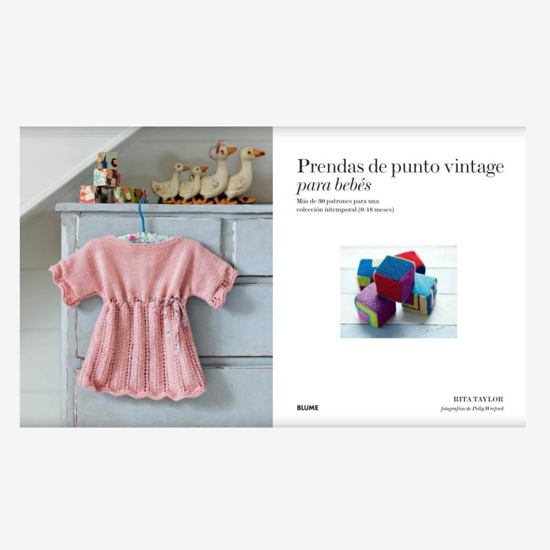 Senshoku – Libro Prendas de punto vintage para bebé, de Rita Taylor