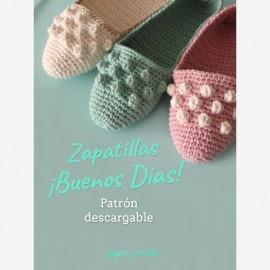 Patrón zapatillas ¡Buenos Días!