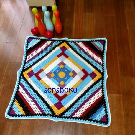 Patrón manta Pop Blanket