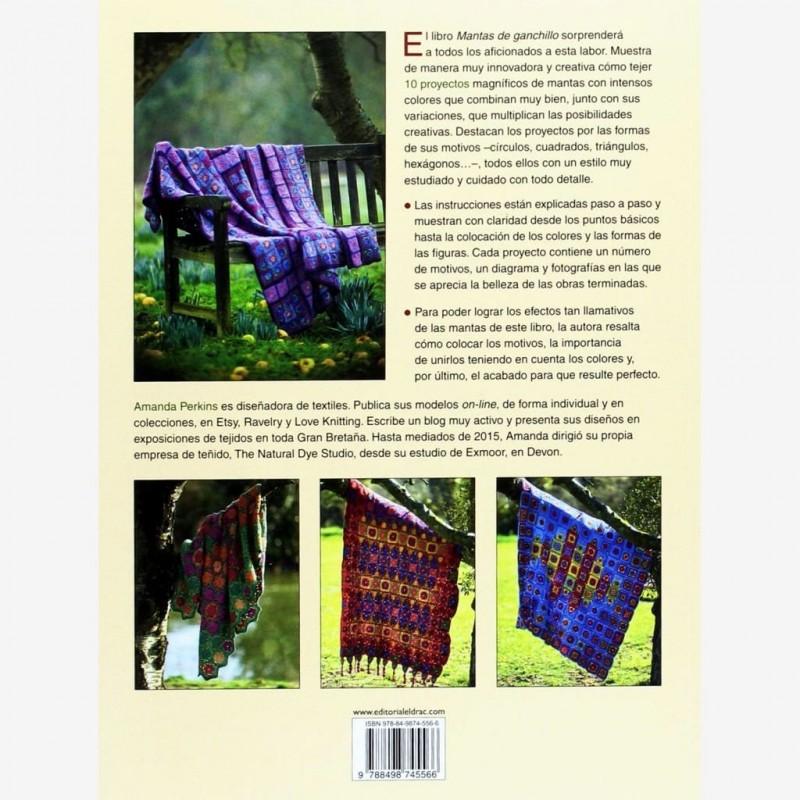 Senshoku - Libro Mantas de Ganchillo, de Amanda Perkins