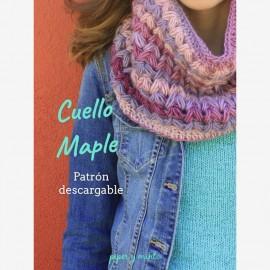 Patrón Cuello Maple
