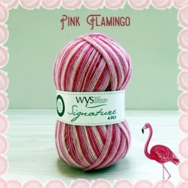 Signature 4-ply 845 - Pink Flamingo