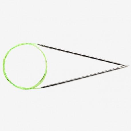 Agujas circulares fijas Hiya Hiya acero 23 cm