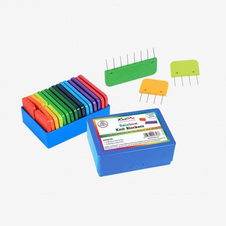 Set de bloqueadores Rainbow Knit-Pro