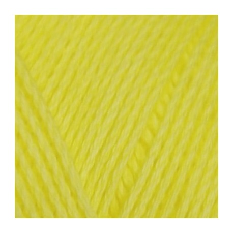Algodón orgánico TOP 297 - amarillo lima