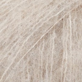 Brushed Alpaca Silk 04 - beige claro