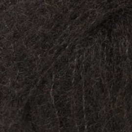 Brushed Alpaca Silk 16 - negro