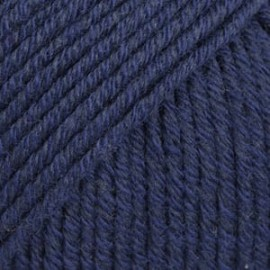 Cotton Merino 08 - azul marinho