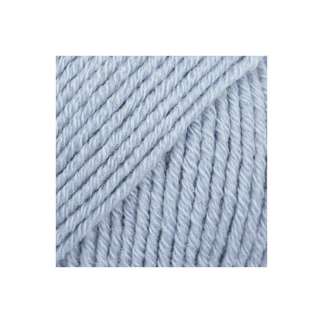 Cotton Merino 09 - azul glaciar