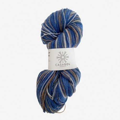 Sock 02 - estampados azules