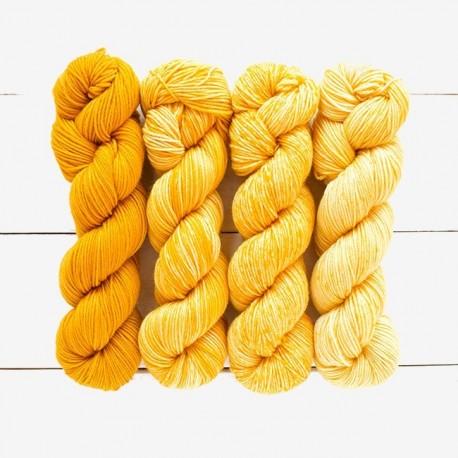 Merino Gradient Kit 802 - amarillos