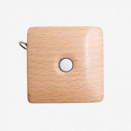 Cinta métrica retráctil en madera KNIT-PRO