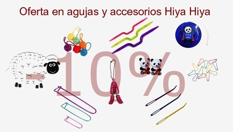 Descuento en agujas y accesorios Hiya Hiya