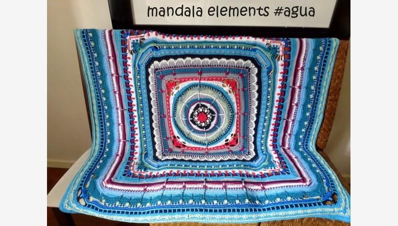 Mandala elements Agua