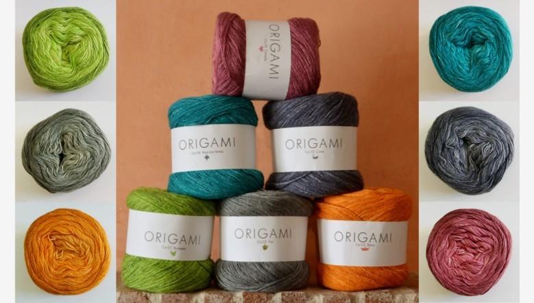 Nuevo algodón Origami