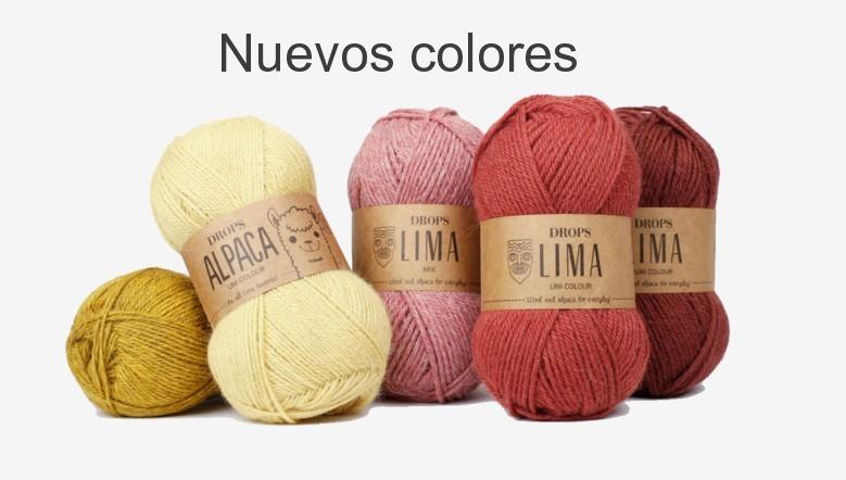 Nuevos colores en Alpaca y Lima
