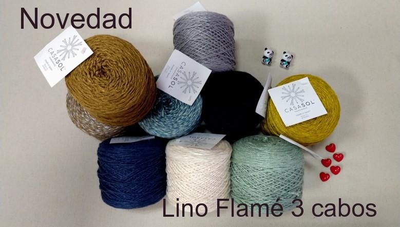 Lino Flamé 3 cabos