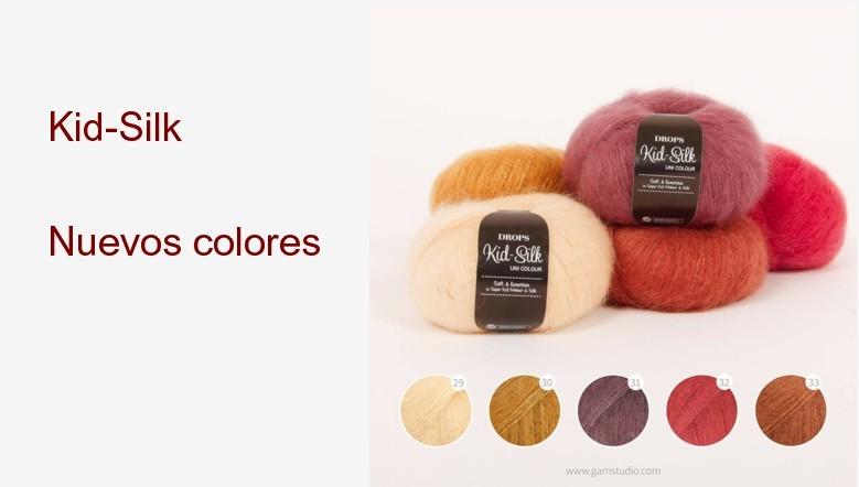 Nuevos colores Kid-Silk