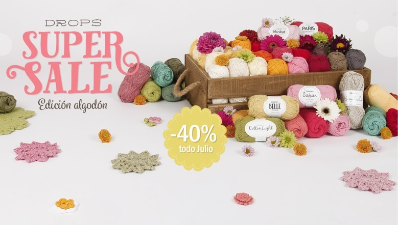 Supersale edición algodón: 40% de descuento