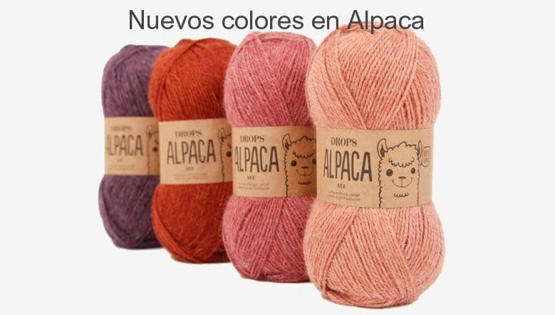 Nuevos colores alpaca